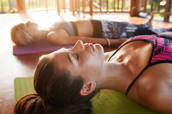 End Your Practice (and Your Week) in Savasana