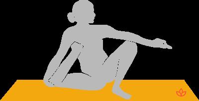 what is yogi staff pose  definition from yogapedia